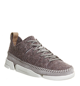 Clarks Originals Trigenic Flex Trainer GREY FELT