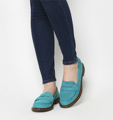 Office Demanding Softy Loafer With Thick Rand GREEN NUBUCK