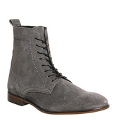 Hudson London Martin boots GREY SUEDE