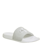 Calvin Klein Chantal Slide GREY CANVAS