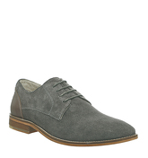 Office Face Gibson GREY SUEDE TAN LEATHER