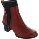 El Naturalista  N5142  women's Low Ankle Boots in Red