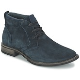 Casual Attitude  LOUDOI  men's Mid Boots in Blue