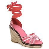 StylistClick  ANGELA  women's Sandals in Red