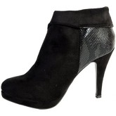 Xti  Shoess  Antelina Combinada Mod 28450 Black  women's Low Boots in Black