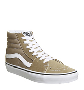 Vans Sk8 Hi TIGER EYES TRUE WHITE