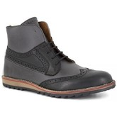 J.bradford  Low Boots  Grey Leather JB-PIERRE  men's Mid Boots in Grey