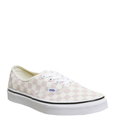 Vans Authentic LIGHT PINK WHITE CHECKERBOARD