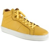 Peter Blade  Sneaker  Yellow Leather MAZATLAND  men's Shoes (High-top Trainers) in Yellow