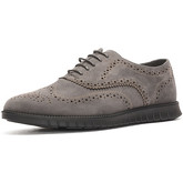 Reservoir Shoes  Derbies with Round Tips JOAN Grey Man Perm  men's Casual Shoes in Grey