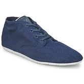 Eleven Paris  BASIC MATERIALS  women's Shoes (High-top Trainers) in Blue
