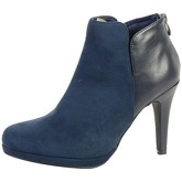 The Divine Factory  Bottine  TDF2717 Marine  women's Low Ankle Boots in Blue