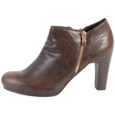 The Divine Factory  Bottine  TDF2720 Cognac  women's Low Ankle Boots in Brown
