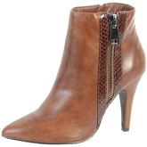 Enza Nucci  Bottine  QL2612 Camel  women's Low Ankle Boots in Brown