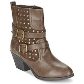 Refresh  ROSEBURG  women's Low Ankle Boots in Brown