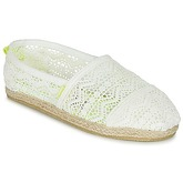 Superdry  JETSTREAM LACE ESPADRILLE  women's Espadrilles / Casual Shoes in White