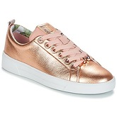 Ted Baker  KELLEI  women's Shoes (Trainers) in Gold