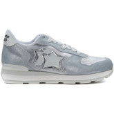Atlantic Stars  Sneaker  Vega in silver lurex and fabric  women's Trainers in Silver