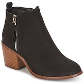 Only  BIANCA ZIP  women's Low Ankle Boots in Black