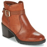 Xti  BOTAMEL  women's Low Ankle Boots in Brown