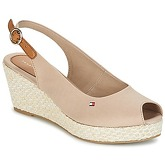 Tommy Hilfiger  ICONIC ELBA BASIC SLING BACK  women's Sandals in Beige