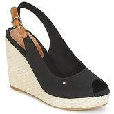 Tommy Hilfiger  ICONIC ELENA BASIC SLING BACK  women's Sandals in Black