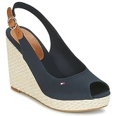 Tommy Hilfiger  ICONIC ELENA BASIC SLING BACK  women's Sandals in Blue