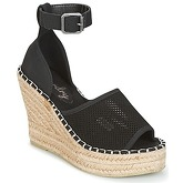 Superdry  ANNA WEDGE ESPADRILLE  women's Sandals in Black