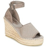 Superdry  ANNA WEDGE ESPADRILLE  women's Sandals in Grey