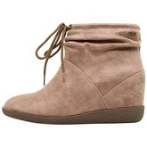 MTNG  BOTINES KARMA TAUPE  women's Low Ankle Boots in Beige