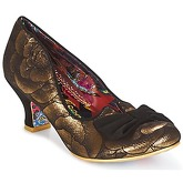 Irregular Choice  DAZZLE RAZZLE  women's Court Shoes in Gold