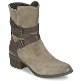 SPM  MOUSE  women's Mid Boots in Beige