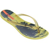 Ipanema  Wave Tropical Flip Flops in Yellow 82119  women's Flip flops / Sandals (Shoes) in Yellow