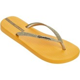 Ipanema  Sparkle Flip Flops in Yellow 81515  women's Flip flops / Sandals (Shoes) in Yellow