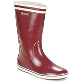 Aigle  MALOUINE BT  women's Wellington Boots in Red