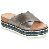 Bullboxer  CETBOU  women's Mules / Casual Shoes in Silver