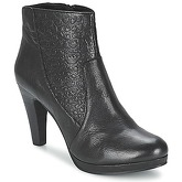 SPM  DITAAG  women's Low Ankle Boots in Black