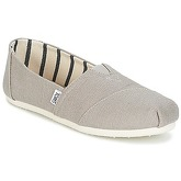 Toms  ALPARGATA  women's Espadrilles / Casual Shoes in Grey