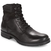 Jack   Jones  JFW ZACHARY  men's Mid Boots in Black