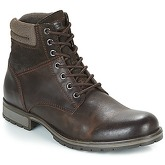Jack   Jones  JFW ZACHARY  men's Mid Boots in Brown