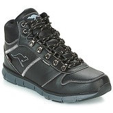 Kangaroos  K BLUE RUN 8023  men's Mid Boots in Black