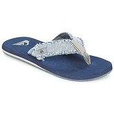 Quiksilver  MONKEY ABYSS  men's Flip flops / Sandals (Shoes) in Blue
