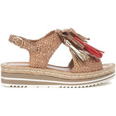 Pon´s Quintana  copper woven leather sandal with tassels  women's Sandals in Other