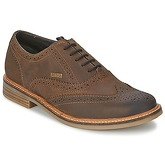 Barbour  REDCAR OXFORD BROGUE  men's Casual Shoes in Brown