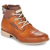 Bunker  YON  men's Mid Boots in Brown
