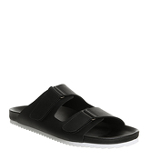 Office Florida Double Strap Sandal BLACK SAULER