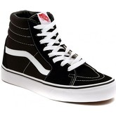 Vans  SK8 HI BLACK  men's Shoes (High-top Trainers) in Silver