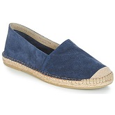 Selected  SHHAJO SUEDE ESPADRILLES  men's Espadrilles / Casual Shoes in Blue