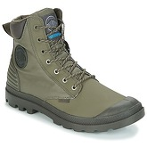 Palladium  PAMPA SC SHADOW WPR  men's Mid Boots in Green