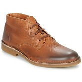 Selected  ROYCE DESERT LEATHER BOOT  men's Mid Boots in Brown